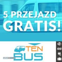 5 przejazd GRATIS! z TenBus