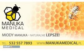 ManukaMedical.pl - oryginalne miody Manuka