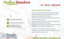 Poolse Smaken – polski supermarket w Hol