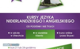 Niderlandzki i angielski kurs online