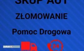 SKUP AUT ZŁOMOWANIE POMOC DROGOWA 24/7