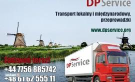 Przeprowadzki Polska Holandia, transport