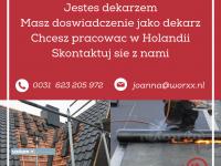 Dekarz praca w Holandii