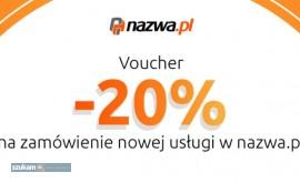20% rabatu w Nazwa.pl - kupon zniżkowy