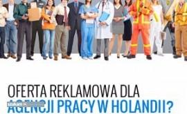 Oferta reklamy dla Agencji Pracy